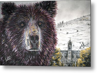 Grizzly Bear Metal Prints