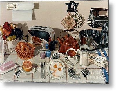 Toaster Paintings Metal Prints