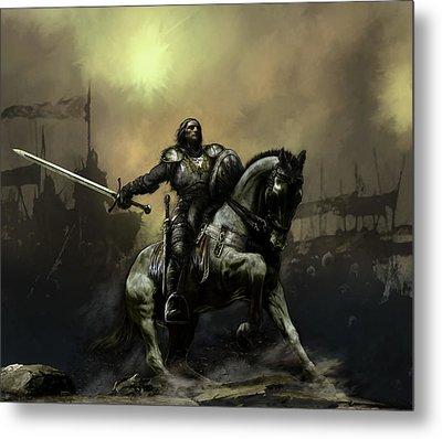 Knight Metal Prints