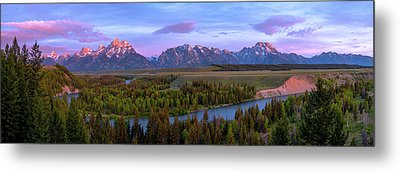 Grand Tetons Metal Prints