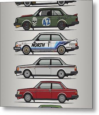 Automotive Art Series Metal Prints