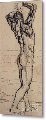 Homoerotic Drawings Metal Prints
