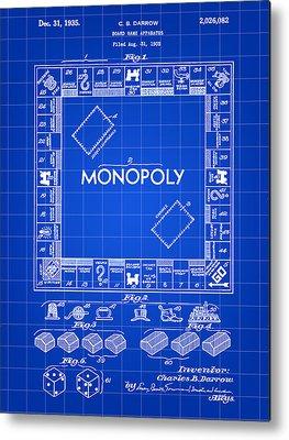 Monopoly Metal Prints