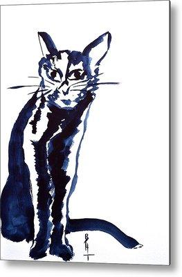 Spirit Cat Essence Paintings Metal Prints