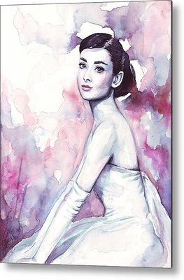 Audrey Hepburn Metal Prints