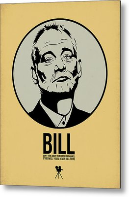 Bill Metal Prints