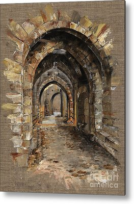 Archways Metal Prints