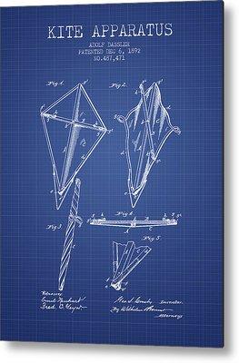 Kites Digital Art Metal Prints