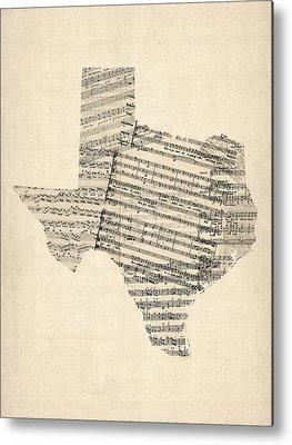 Austin Texas Metal Prints