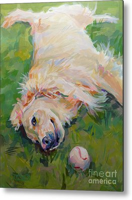 Golden Retriever Metal Prints
