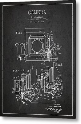 Camera Art Metal Prints