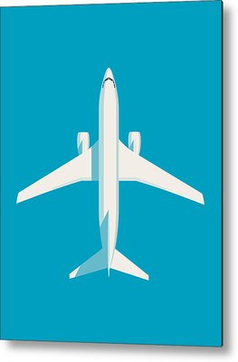 Airline Metal Prints