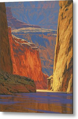 Landscape Paintings Metal Prints