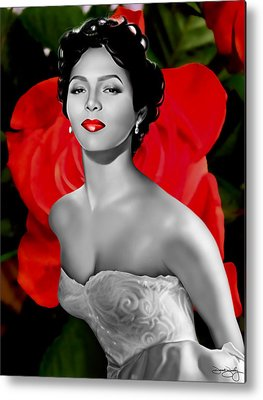 Roses Digital Art Metal Prints