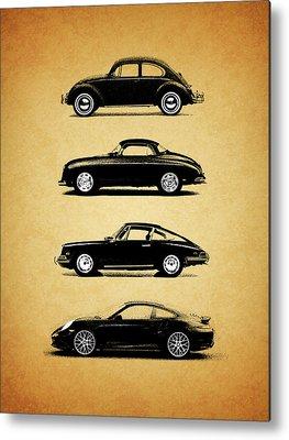 Porsche 911 Metal Prints