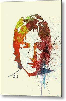 John Lennon Metal Prints