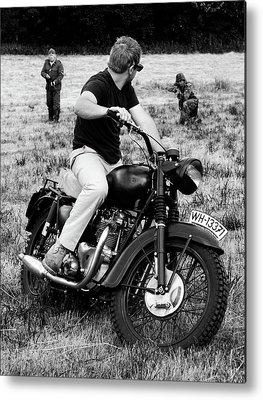 Triumph Motorcycle Metal Prints
