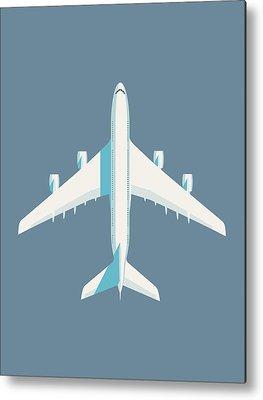 A380 Metal Prints