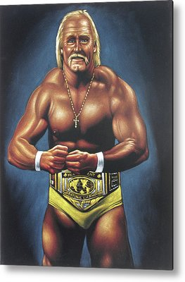 World Wrestling Federation Metal Prints
