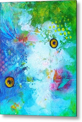 Artistic Fish Abstraction Metal Prints