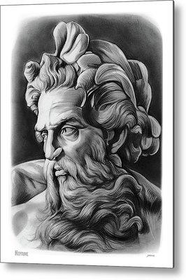 Neptune Metal Prints
