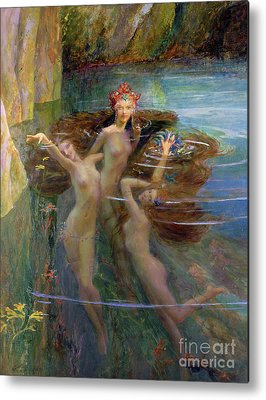 Naiad Metal Prints