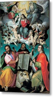 Saint Luke The Evangelist Paintings Metal Prints