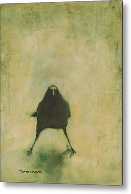 Crow Metal Prints