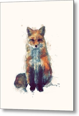 Fox Metal Prints
