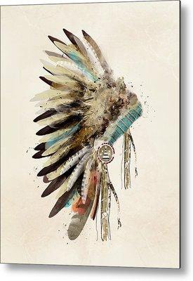 Feathers Paintings Metal Prints