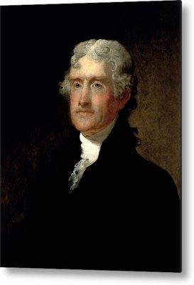 Thomas Jefferson Metal Prints