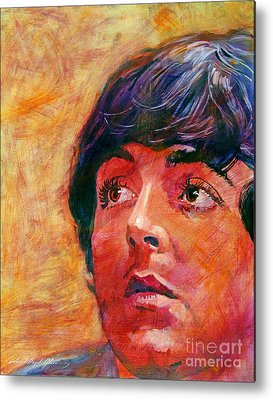 Paul Mccartney Metal Prints