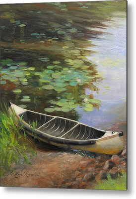 Canoe Metal Prints