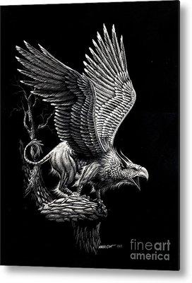 Griffon Metal Prints