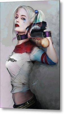 Harley Quinn Metal Prints