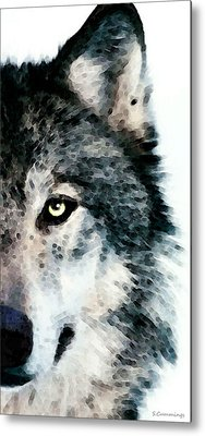 Wolves Metal Prints
