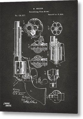 Gunfighters Digital Art Metal Prints