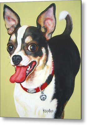 Chiwawa Portrait Metal Prints