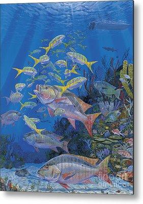 Parrotfish Paintings Metal Prints