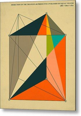 Modern Abstract Digital Art Metal Prints