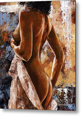 Female Nude Art Metal Prints