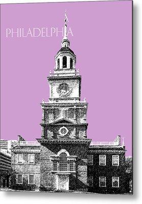 Independence Hall Digital Art Metal Prints