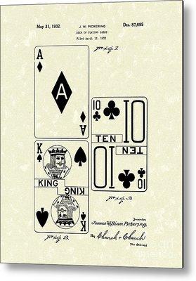 Card Drawings Metal Prints