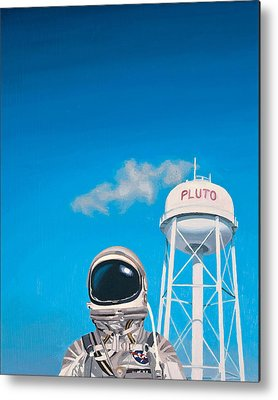 Astronauts Metal Prints