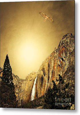 Bierstadt Mixed Media Metal Prints