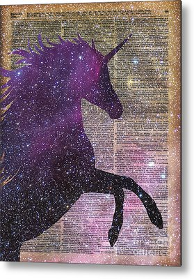 Unicorn Metal Prints