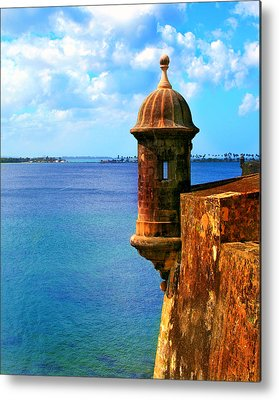 Spanish Fort Metal Prints