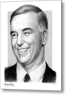 Howard Dean Metal Prints