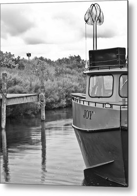 Trawler Photographs Metal Prints