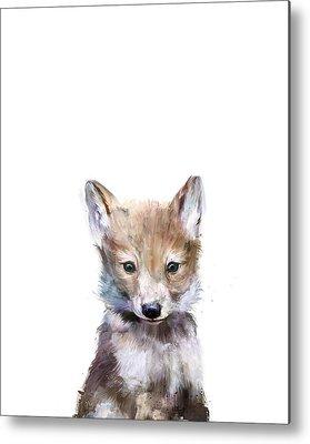 Wolf Metal Prints